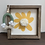 Thumbnail: 10X10 Yellow Pom Pom Flower Wooden Sign