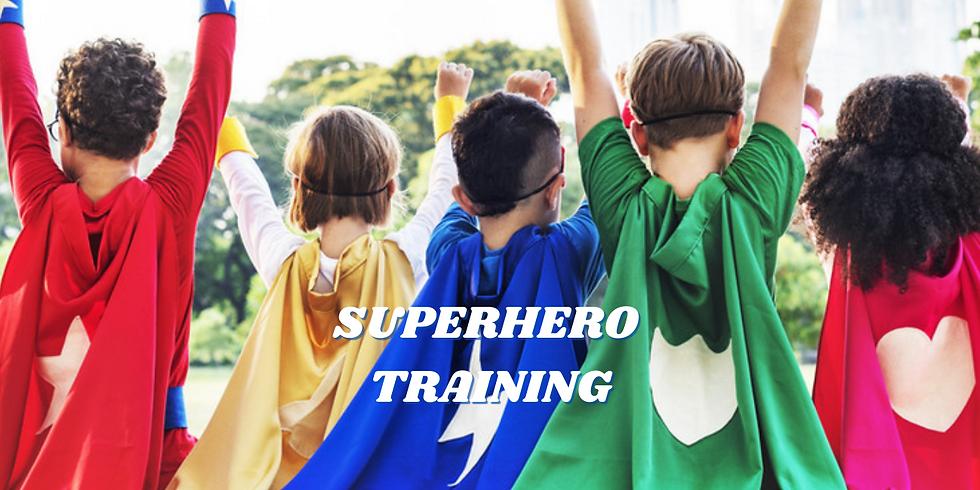 Superhero Training (Shorewood)