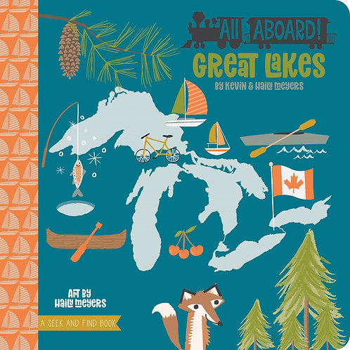 All Aboard Great Lakes Board Book