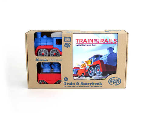 Train & Storybook Set