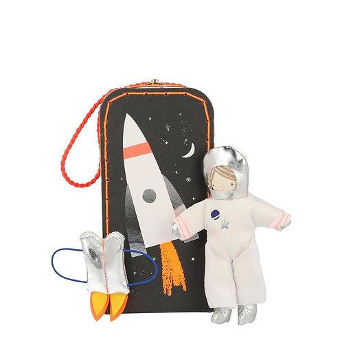 Astronaut Mini Suitcase Doll
