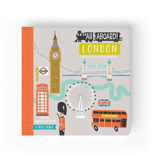 All Aboard London Board Book