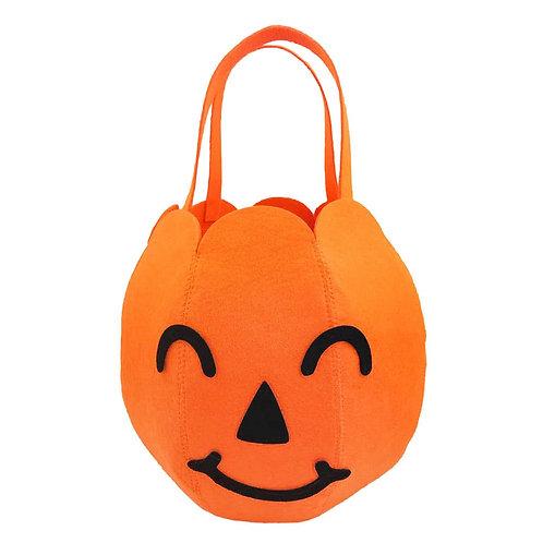 Pumpkin Trick-or-Treat Basket