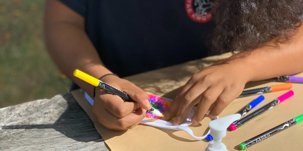 Mask Decorating Outdoor Event in Mequon (FREE)