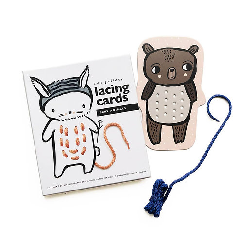 Lacing Cards - Baby Animals