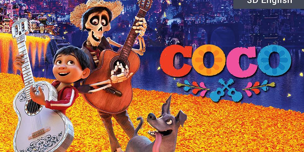 Family Movie Night Potluck ft Coco