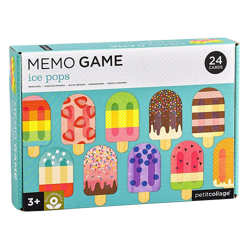 Memory Game - Ice Pops