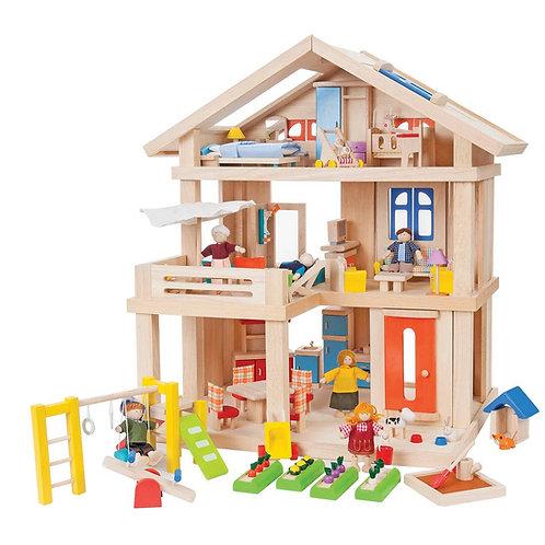 Terrace Dollhouse Package