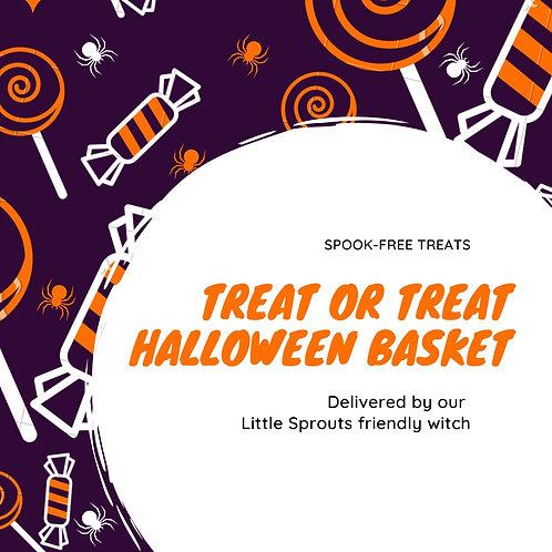 Trick-or-Treat Halloween Basket