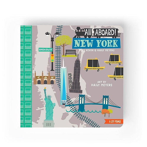 All Aboard New York City Board Book