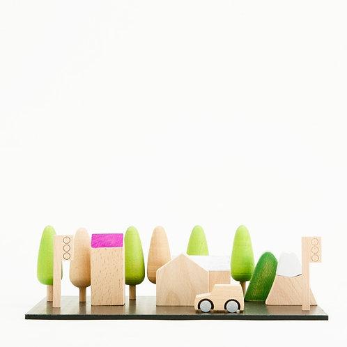 Machi Tiny Wooden Town