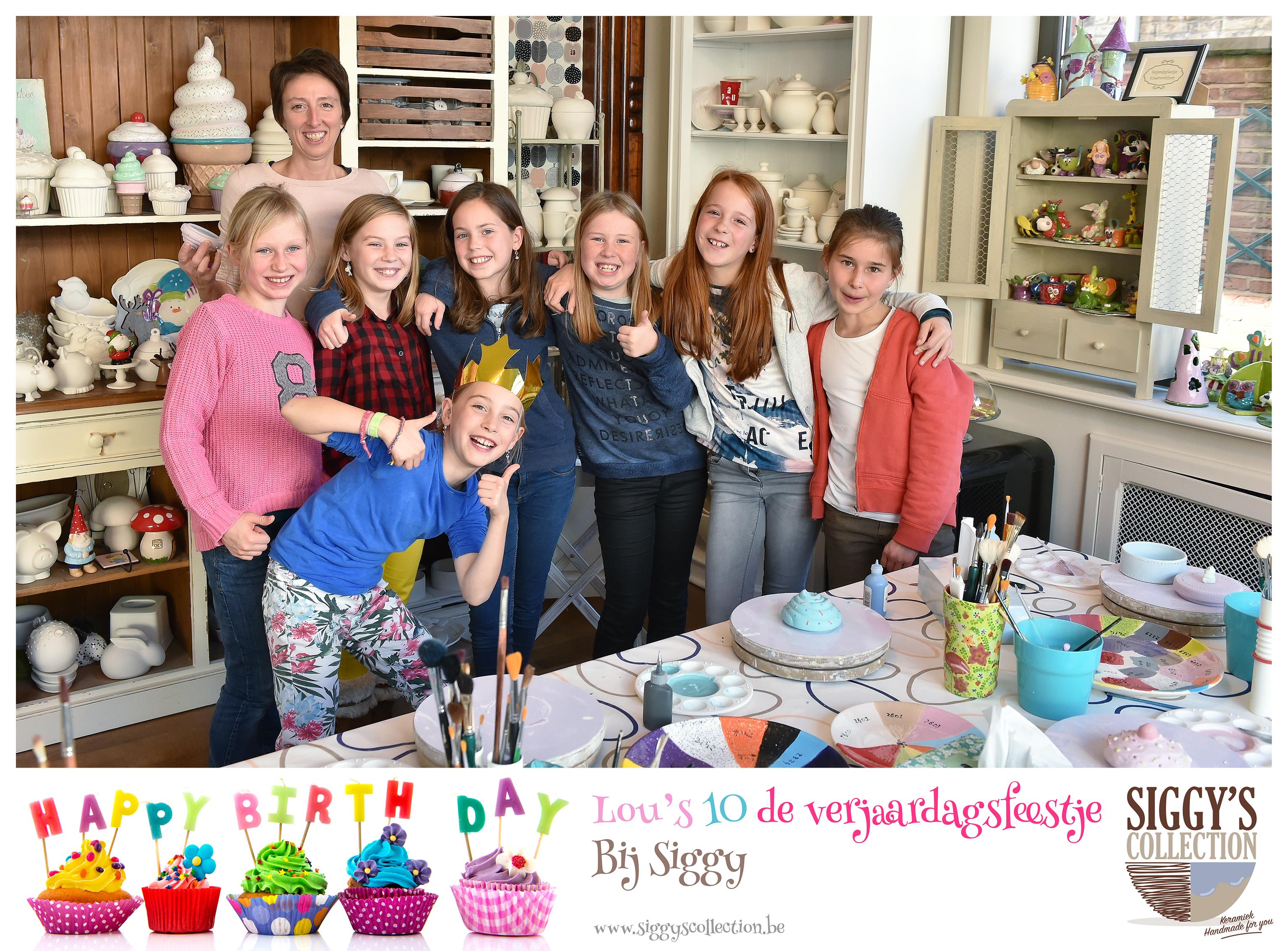 Lou verjaardagsfeestje  bij Siggy small