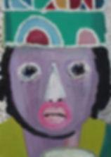 인디언분장_18.8x22.5xcm_oil on canvas_2010.jp