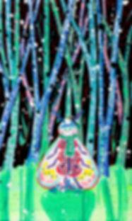 박지혜_패딩나방_acrylic and oil on canvas_53.0
