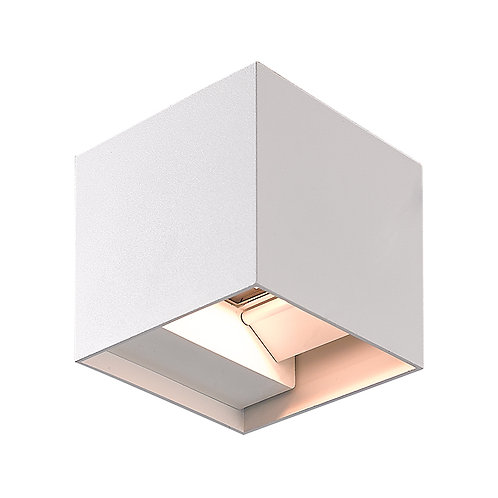 White Up & Down LED Wall Light (SE-259)