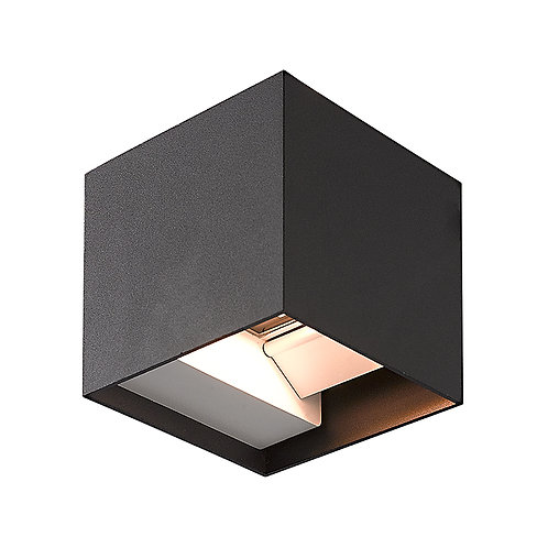 Black Up & Down LED Wall Light  (SE-259)