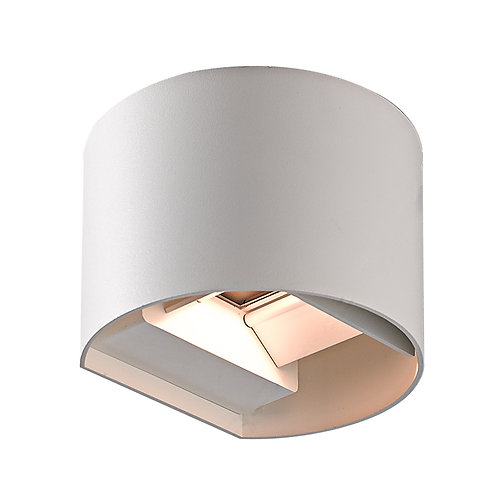 White Up & Down LED Wall Light (SE-258)