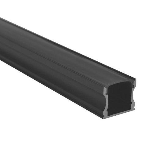 BLACK ALUMINUM PROFILE (SE-A004B-BLK)