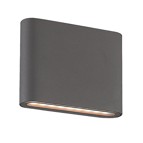 Black Up & Down LED Wall Light (SE-354-TC)