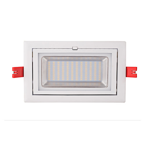 38W LED RECTANGULAR SHOP LIGHT (TC)