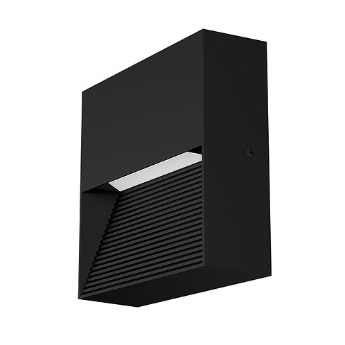 Black LED Wall Light (SE-WL59B-8W)