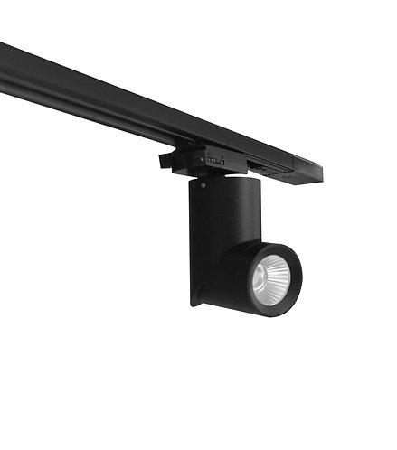 12W GIMBLE LED TRACK LIGHT (TH17) - BLACK
