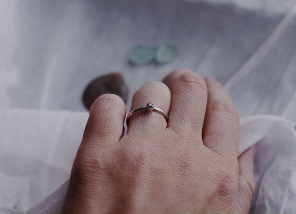 Blue Gemstone Stacking Ring