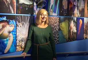 A Conversation with Peggy Sloan, Director of the North Carolina Aquarium at Fort Fisher