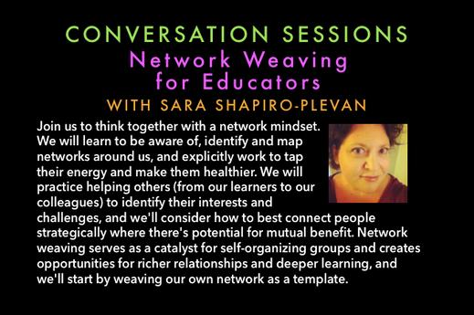 Network Weaving for Educators