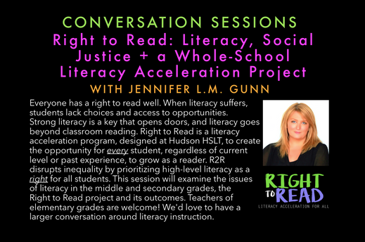 Right to Read: Literacy, Social Justice + a Whole-School Literacy Acceleration Project