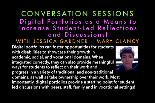 Digital Portfolios as a Means to Increase Student-Led Reflections and Discussions
