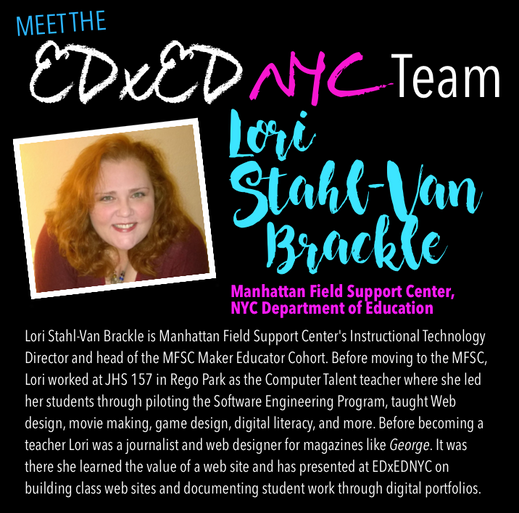 Meet the EDxEDNYC Conference Team — Lori Stahl-Van Brackle