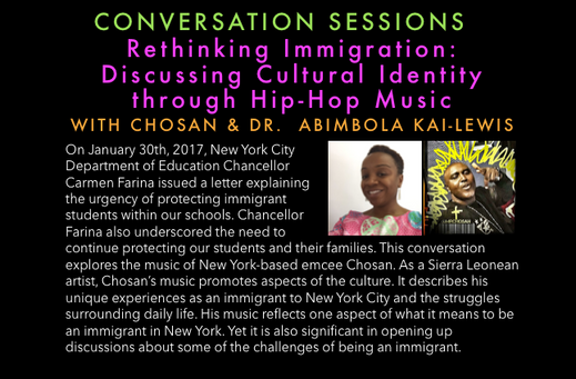 Rethinking Immigration: Discussing Cultural Identity through Hip-Hop Music