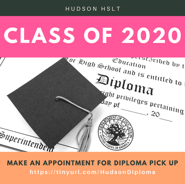 CLASS OF 2020 DIPLOMA PICK UP