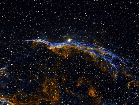 September Object of the Month: The Witch's Broom Nebula