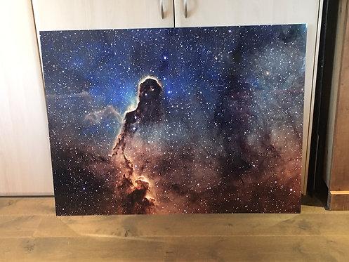 """Gallery Sale -Framed 48"""" Acrylic Star Birth Two"""