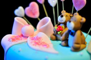 My Sweet Valentine cake