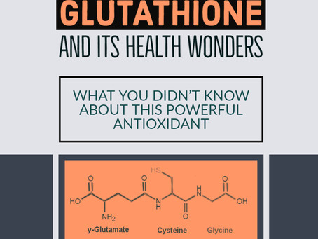 Glutathione and its immune wonders /Glutathion et ses merveilles immunitaires