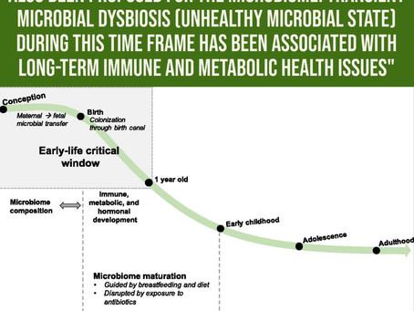 Ce qui affecte le microbiome de votre enfant peut prédir leur santé plus tard.
