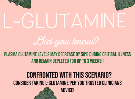 A different side to L-Glutamine