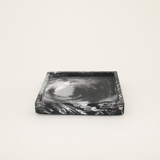 Black Marble Trinket Tray
