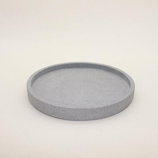 Grey Granite Large Decorative Tray