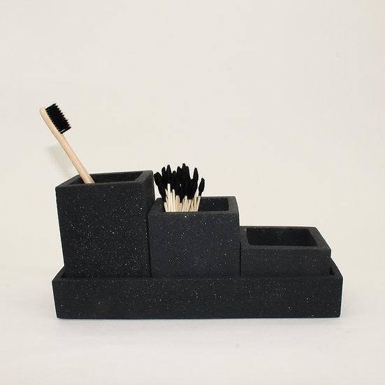 Black Granite Organiser