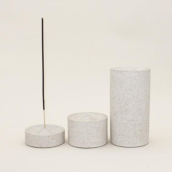 Pebble Stone Curve Incense Holder