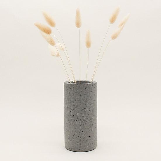 Grey Granite Vase