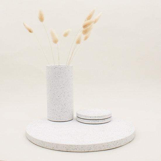 White Granite Centrepiece