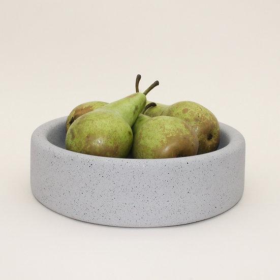 Grey Granite Large Decorative Bowl