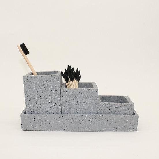 Grey Granite Organiser