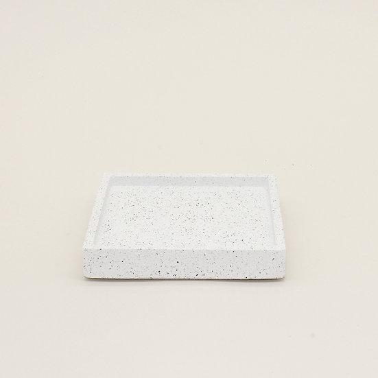 White Granite Trinket Tray