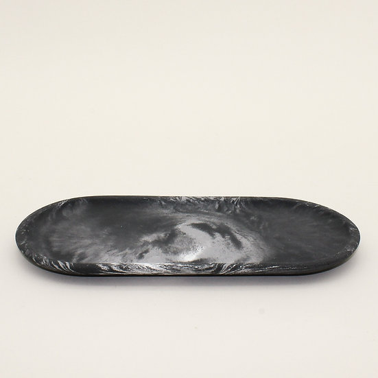 Black Marble Decorative Tray
